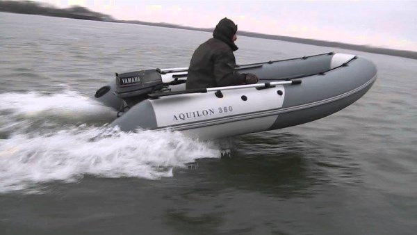 Скорость надувной лодки – важный параметр при ее выборе